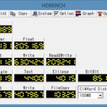 自作パソコンのベンチマーク結果(HDBENCH )を紹介します!1997年~現在