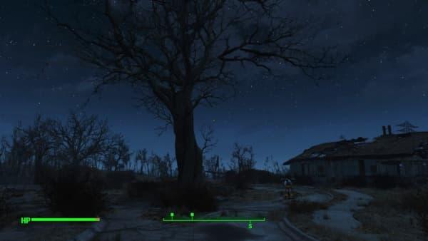 Fallout4の夜