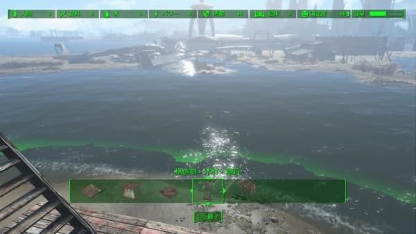 海の波が細かく見えて、良い景色になってます