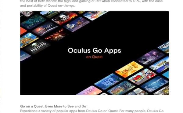 Oculus Goのゲームができる