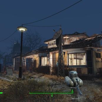 【Fallout4 クラフト】サンクチュアリに昔の明るさが戻った!新DLCのアイテムでリフォームしました