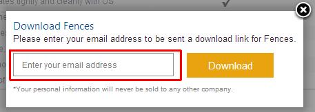 ソフトウェアダウンロード用のURLが書かれたメールが送信されてきます