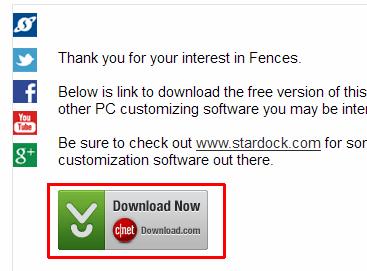 「Download Now」ボタンをクリック